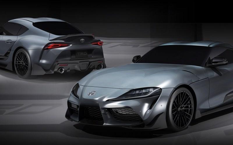 Toyota Acaba de Criar o Kit Tuning para o Novo Supra