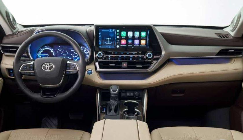 Toyota Higlander 2020 → Veículo de Sete Lugares igual ao RAV4 em Nova Iorque