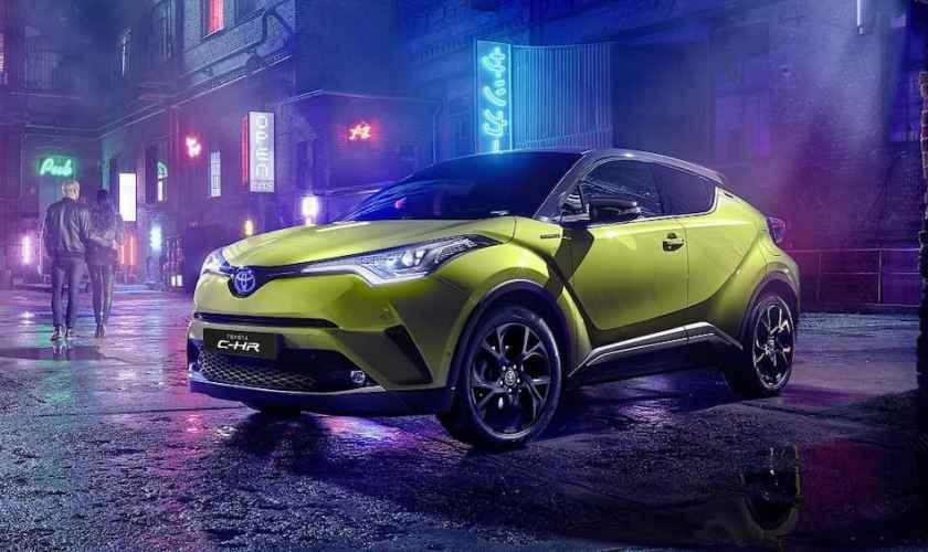 Toyota e JBL Criaram para o CH-R Hydrid uma edição limitada Neon Lime