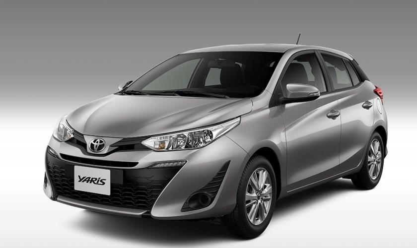 Linha 2020 do Toyota Yaris Terá Novidades Discretas