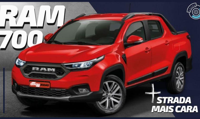 NOVA RAM 700: Aumento de Preços da Pick-Up Fiat Strada Cabine Dupla