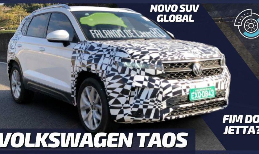 NOVO VW TAOS: Volkswagen Lança Novo SUV no Brasil e Argentina (PROJETO TAREK)
