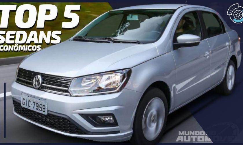5 Carros Sedans Mais Econômicos do Brasil Segundo o INMETRO