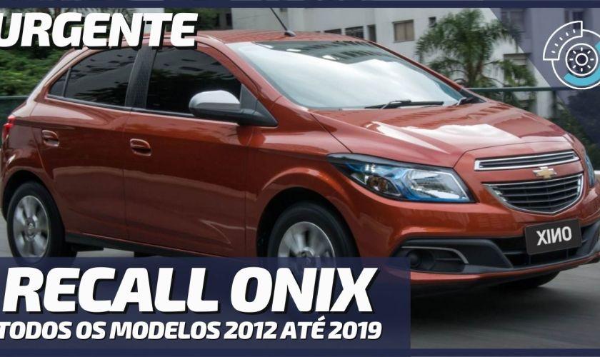 Ministério Público Pede Recall de Todos Chevrolet Onix Vendidos Desde 2012 no Brasil