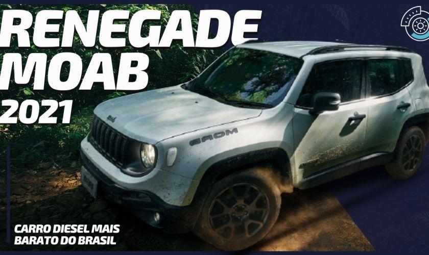 Jeep Renegade MOAB Lançamento com R$7Mil de Desconto