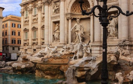 The Trevi Fountain, Rome in 6 Days © Mano Chandra Dhas