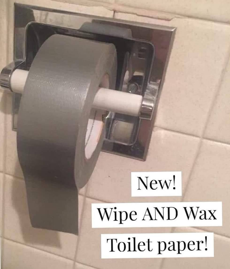 New Wipe And Wax Toilet Paper