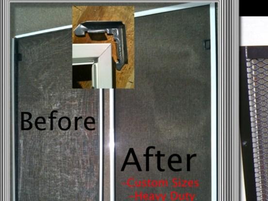 Aluminum Corner Screen Frame