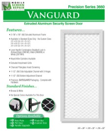 Aluminum Screen Doors Page 1
