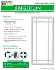 Aluminum Screen Doors Page 4