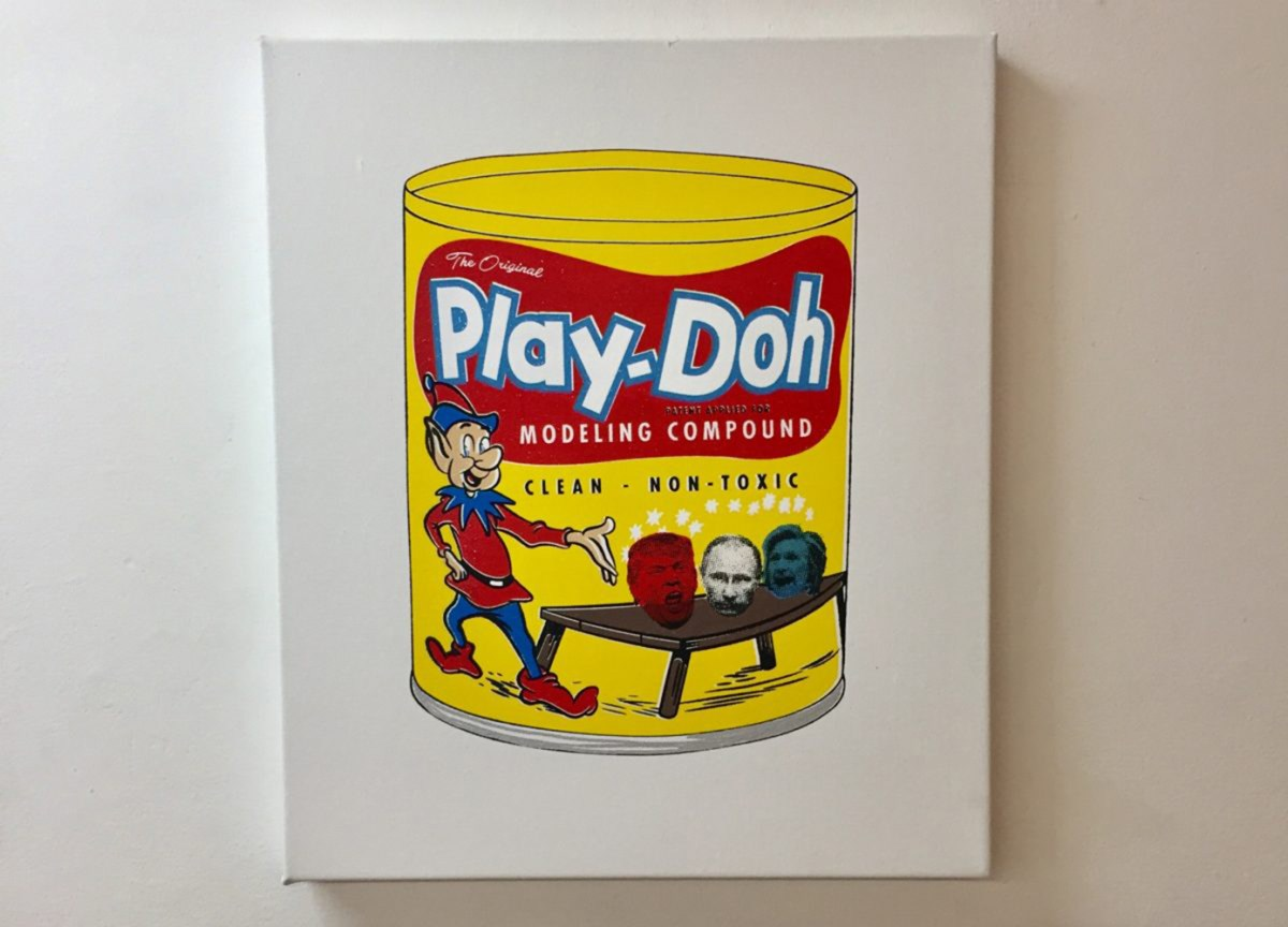 Play-Doh Therapy at Whitebox in NYC