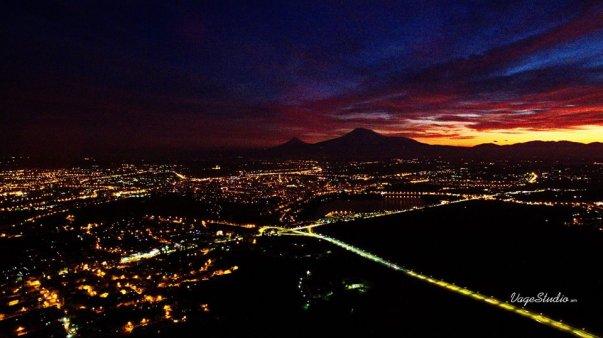Yerevan at night