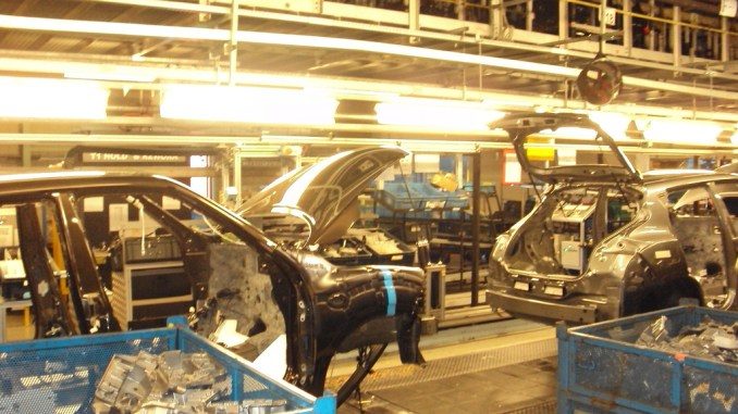 Nissan's Sunderland plant is just one factory that the UK government must entice with corporate welfare to keep in operation after Brexit.