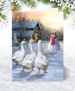 Corporate Collection Personalised Christmas Cards For