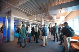 corporate event photographer Cambridge-networking-540