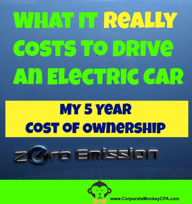 Costs to Drive An Electric Vehicle