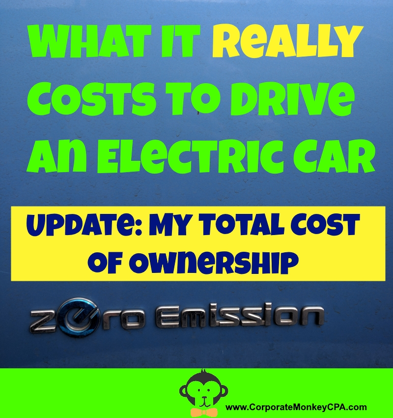 My EV Total Cost of Ownership: Updated