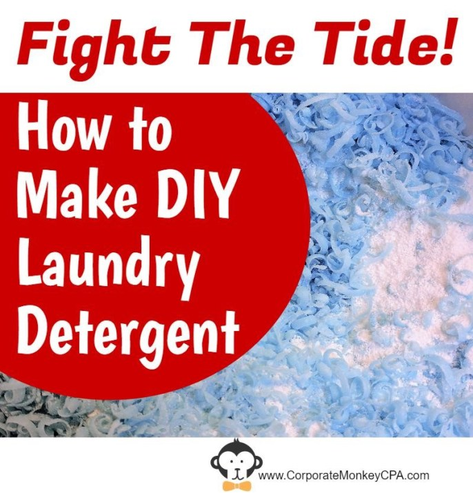 Fight The Tide DIY Laundry Detergent