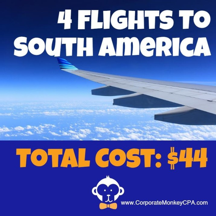 Travel Hack Flights to South America