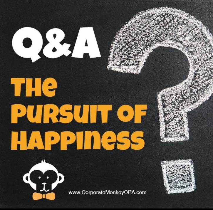 Q&A The Pursuit of Happiness