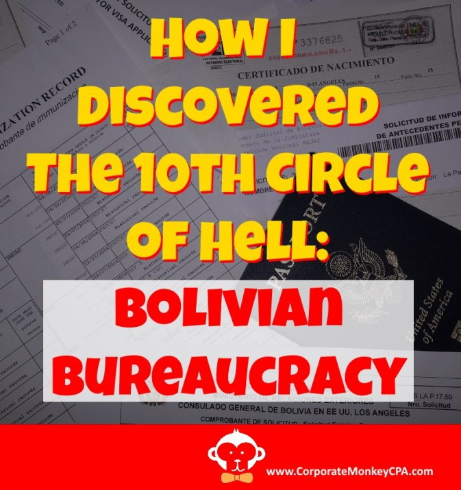 How I Discovered the 10th Circle of Hell: The Bolivian Bureaucracy