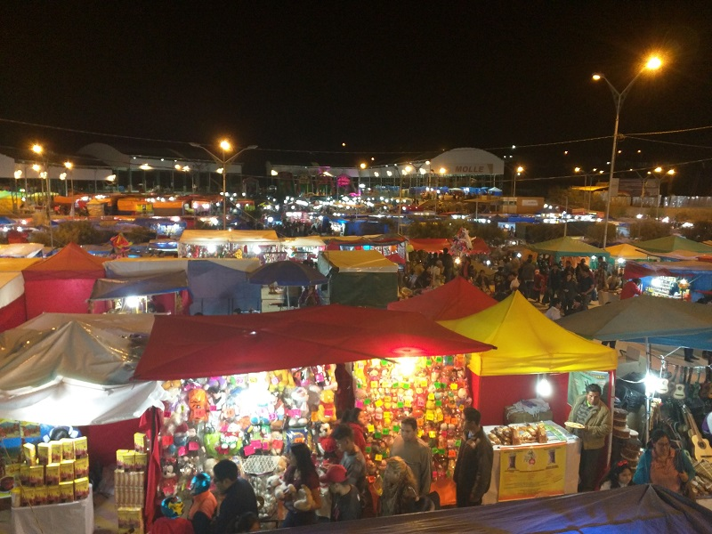 Alasitas Fair in Tarija, Bolivia
