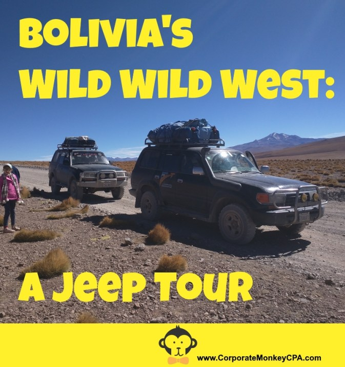 Bolivian Jeep Tour