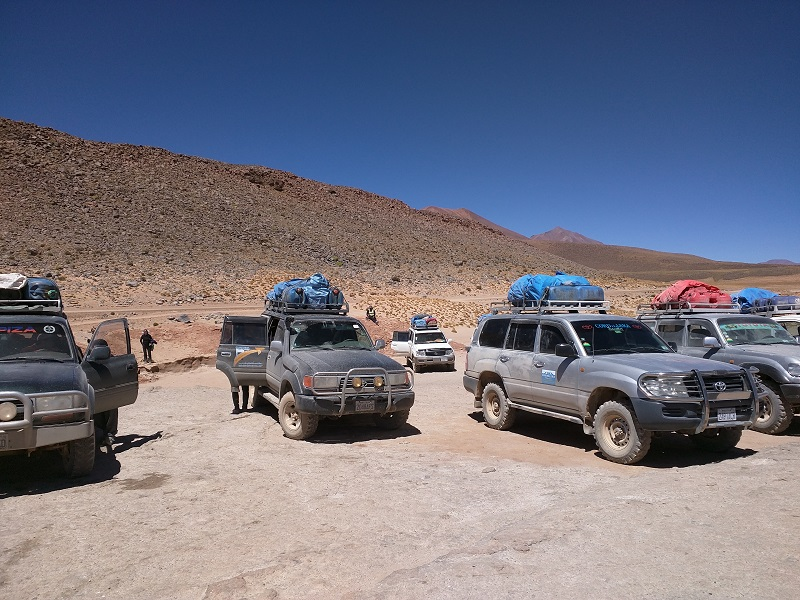 Crowds on Bolivia's Southwest Circuit