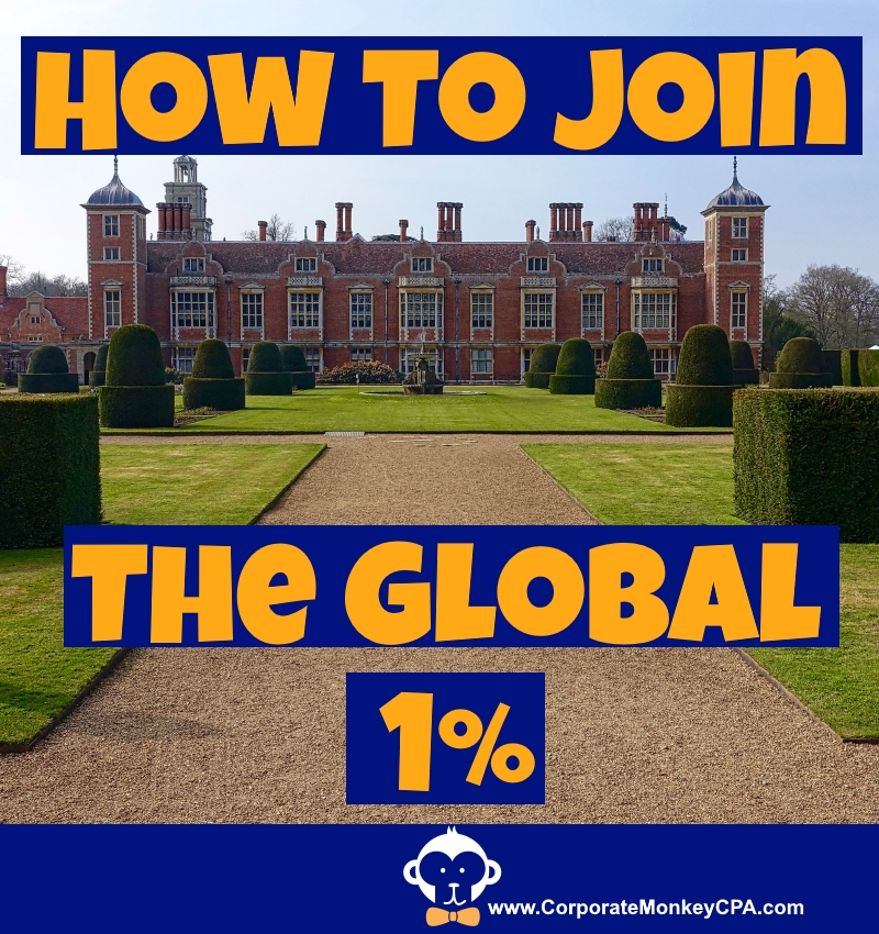 How To Join The Global One-Percenters