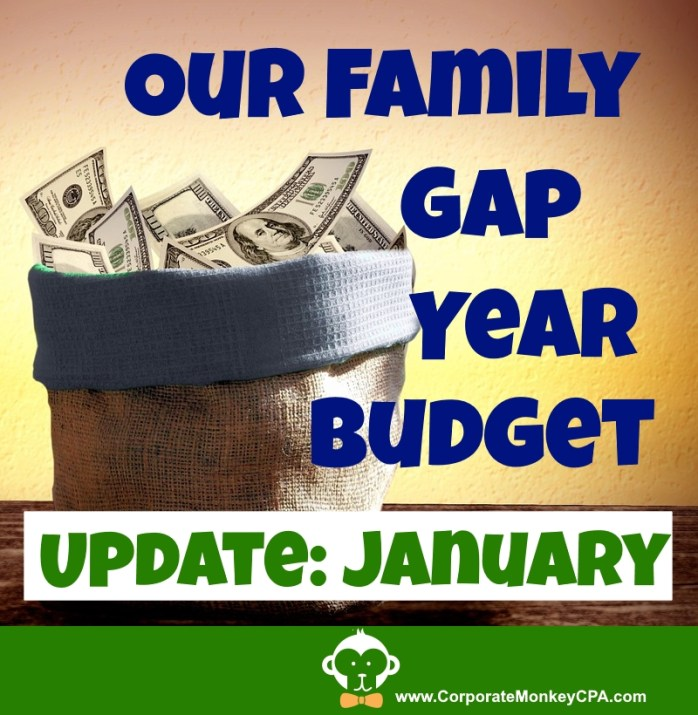 Budget Update January 8 months