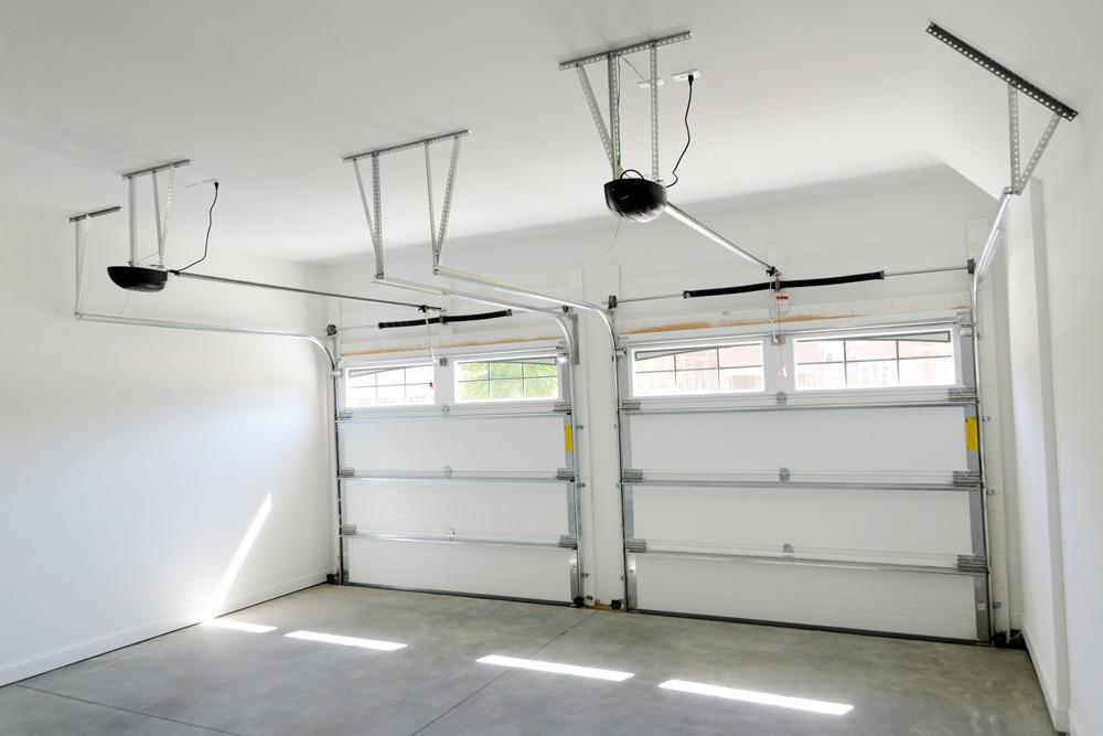 break into your home by the garage door
