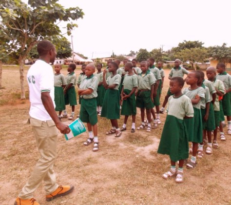 THIRD DISTRIBUTION ON TUESDAY, 26TH MAY, 2015 AT AUD PRIMARY SCHOOL, ISE ROAD, IKERE-EKITI, EKITI STATE