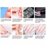 Hemistin Vernis À Ongles Gel Set Gel D'extension des Ongles Gel Soins des Ongles Quotidiens Outils De Manucure Nail Art Gel À Séchage Rapide