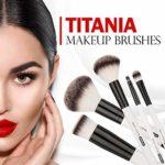 Titania Pinceau à lèvres, grand, véritable Pony cheveux, sur carte blister, 1er Pack (1x 16G)