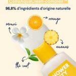 Cellublue Huile Douche Cellulite | Huile lavante Efficace contre la Cellulite et la Peau d'Orange – 200 ml
