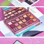 QINQI Fard à Paupières Nacré Mat 18 Couleurs Palette de Fards à Paupières de Maquillage Imperméable de Longue Durée Facile à Colorer Cosmétiques de Beauté de Maquillage
