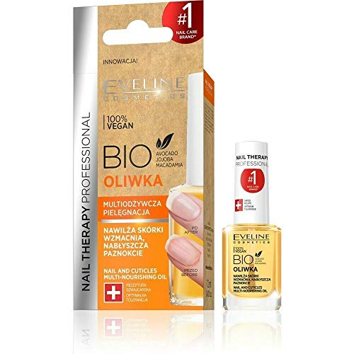 Eveline Cosmetics Baume à Ongles Bio Olive 12 ml