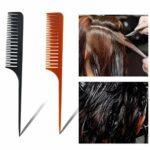 SDENSHI Couverture de Protection Des Yeux de Coupe de Cheveux de Bouclier de Coiffure de Salon Réutilisable En Plastique Rose
