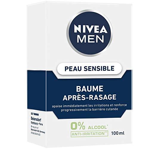 NIVEA – Men Baume Après-Rasage Peau Sensible 100Ml – Lot De 2