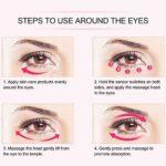 Instrument de beauté des yeux, masseur pour les yeux, dispositif de soin des yeux, stylo de Massage des yeux à vibrations cernes électriques enlever l'outil de soin des yeux