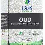 Savon de bain Glamorous Hub Lass Naturals Oud Savon de bain à base de plantes aux huiles essentielles de qualité thérapeutique 125 G Soins de la peau (l'emballage peut varier)