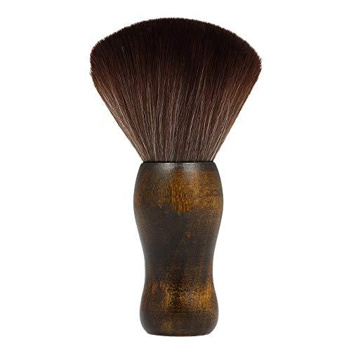 ACAMPTAR Professional Cou Dou Visage Duster Brosses Coiffeur Cheveu Propre Brosse à Cheveu Salon Coupe Coiffure Styling Maquillage Outil