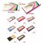 HLWJ Coups de Fouet holographiques boîte 20/50/100 / 200pcs Cils en Papier Doux Emballage for Faux Cils (Color : S, Size : 200box)