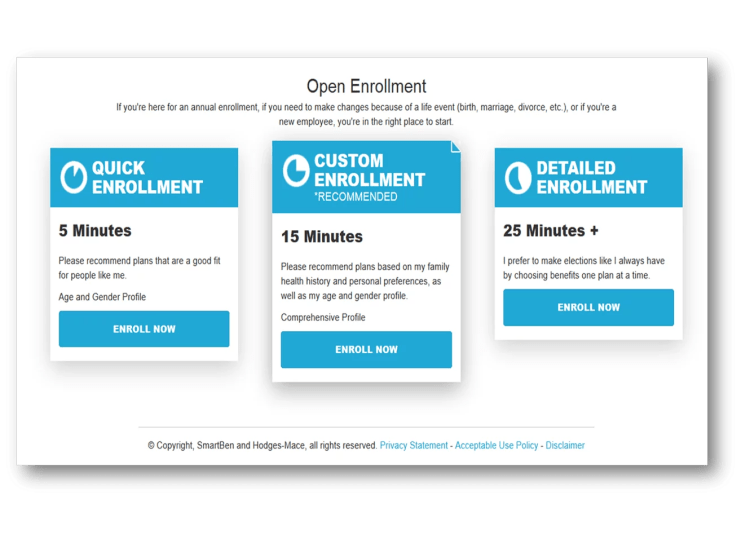 Benefits Administration Technology   Enrollment Preview 2