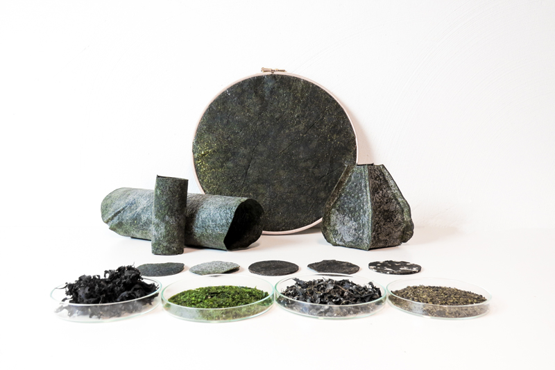 Officina Corpuscoli_De Algarum Natura materials from algae