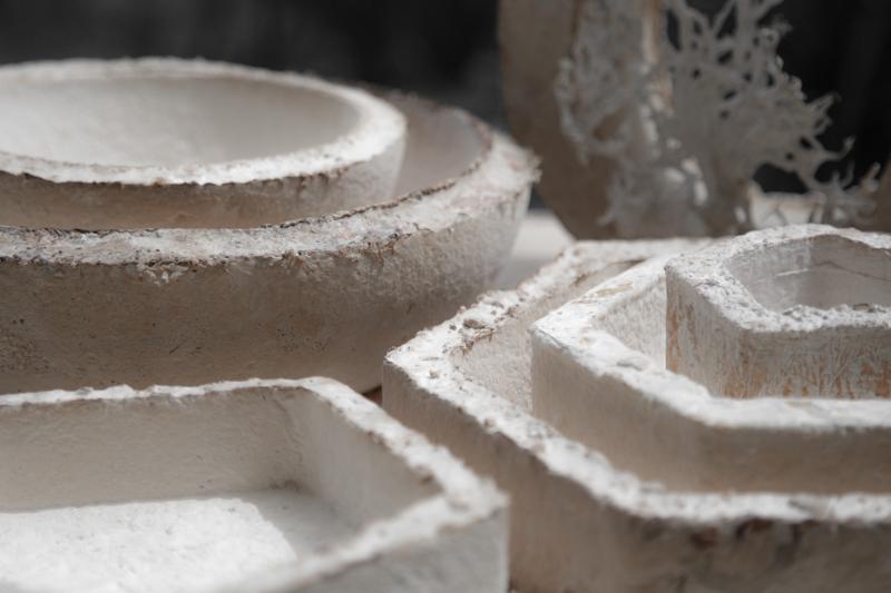 The Growing Lab - Mycelia ©Officina Corpuscoli | Maurizio Montalti - mycelium vessels overview2