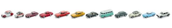 Kultautos mit Magnet alle Modelle