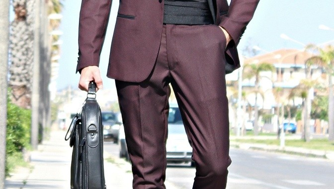 Marc Darcy London – Wine suit