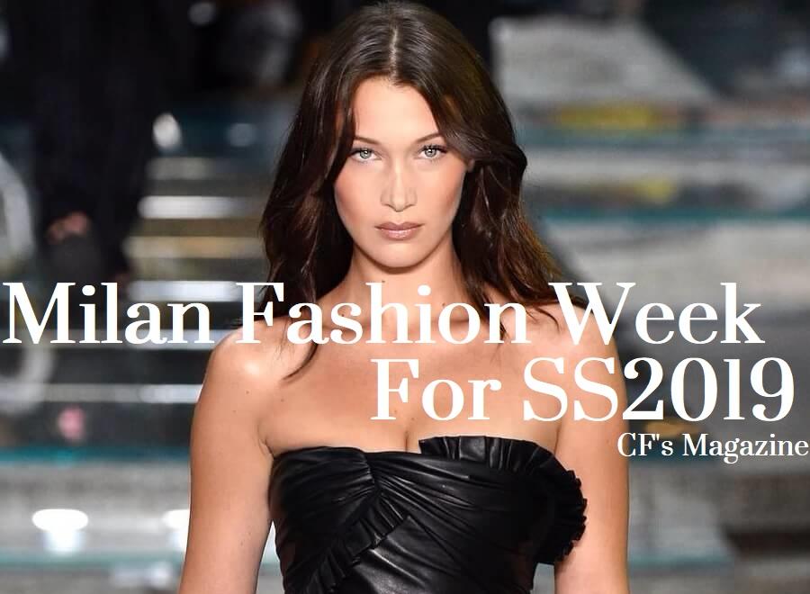 Milano Fashion Week, tendenze primavera estate 2019, bella hadid
