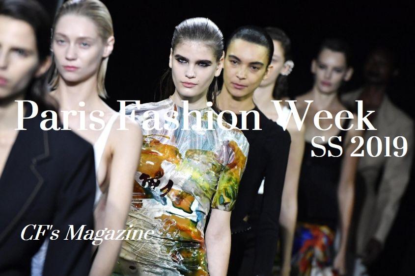 paris fashion week, cf magazine, ss 2019, corrado firera